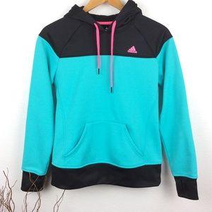 Adidas Neon Climawarm Hoodie